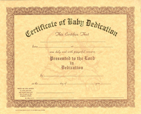 pin free baby dedication certificate templates this is