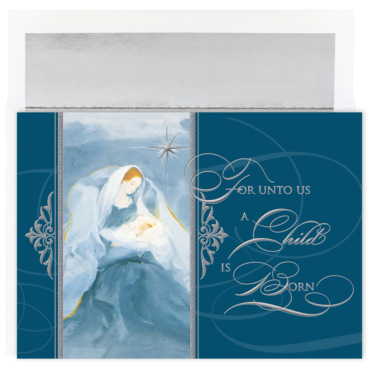 foil stamped christmas cards 1