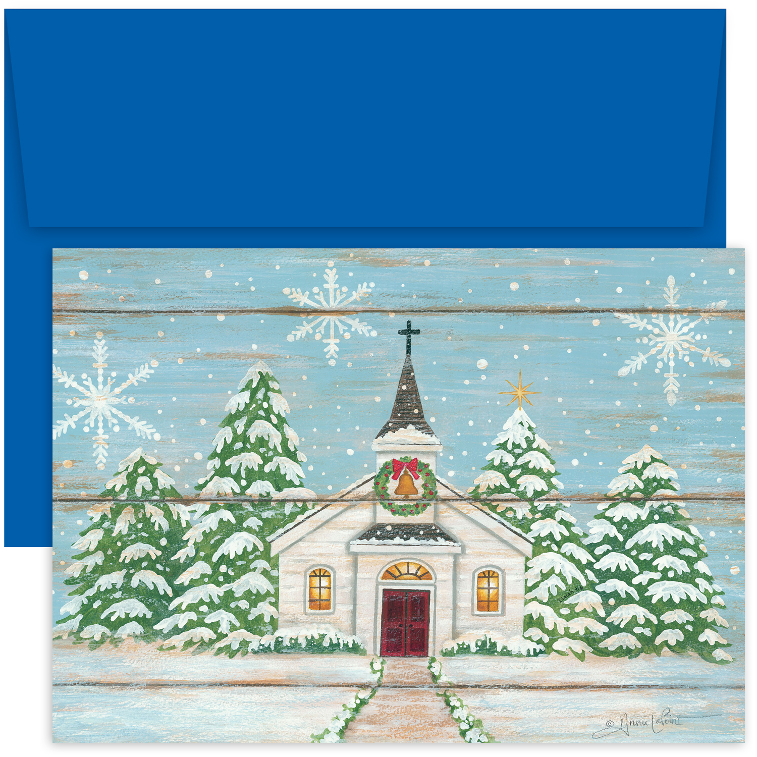 foil stamped christmas cards 3